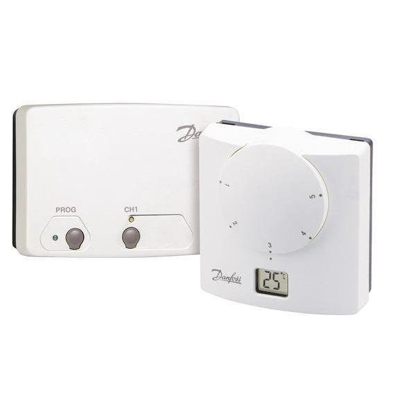 thermostat lectronique sans fil ret b rf achat vente. Black Bedroom Furniture Sets. Home Design Ideas