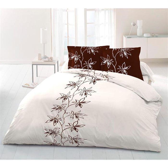 parure de drap 5 pi ces cecile achat vente parure de. Black Bedroom Furniture Sets. Home Design Ideas