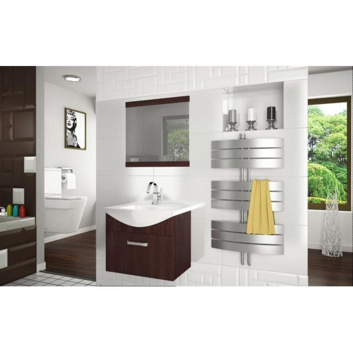 justhome fine vi ensemble salle de bain couleur ch taigne achat vente salle de bain. Black Bedroom Furniture Sets. Home Design Ideas