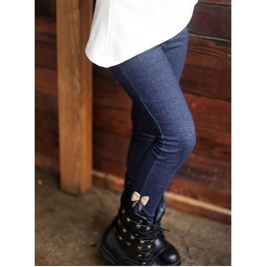 legging enfant fille hiver fourr bleu achat vente legging cdiscount. Black Bedroom Furniture Sets. Home Design Ideas