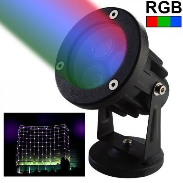 projecteur ext rieur led spot lumineux rgb vert achat. Black Bedroom Furniture Sets. Home Design Ideas