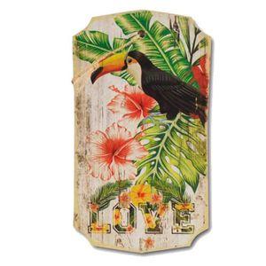 Decoration murale bois achat vente decoration murale for Decoration murale oiseau