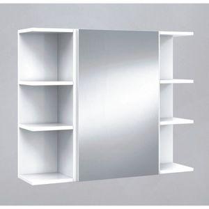 armoire salle de bain avec miroir. Black Bedroom Furniture Sets. Home Design Ideas