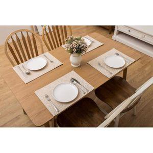 Set table noel achat vente set table noel pas cher for Set de table rectangulaire