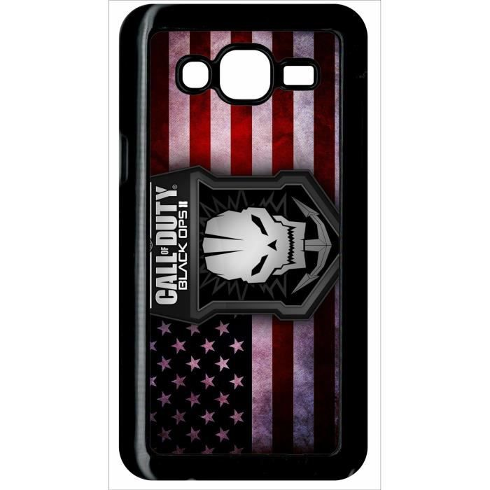 Coque samsung galaxy j5 call of duty black ops ii achat for Coque cdiscount