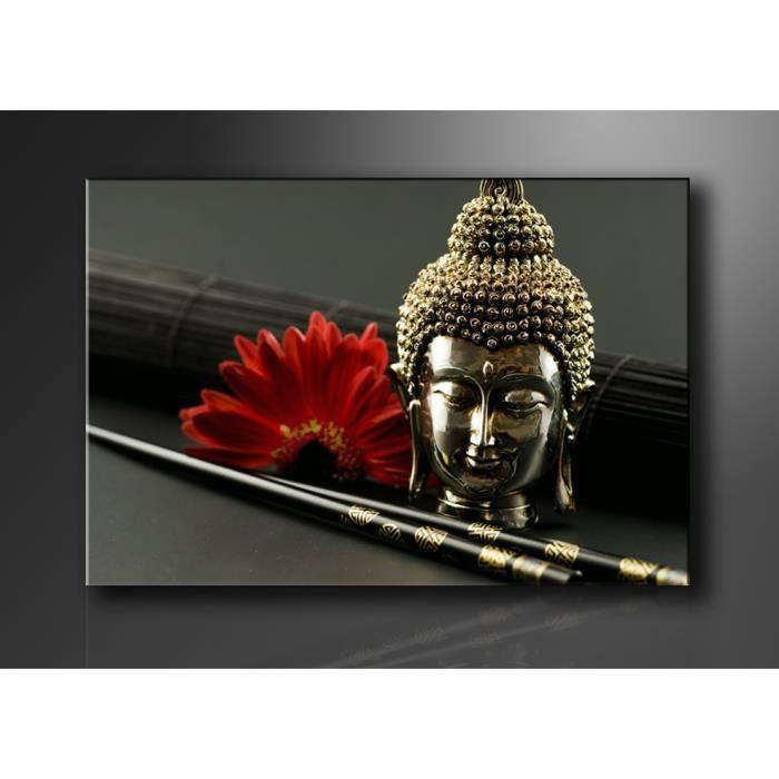 Tableau moderne imprim 120x80 cm bouddha achat vente tableau toile t - Vente tableau moderne ...