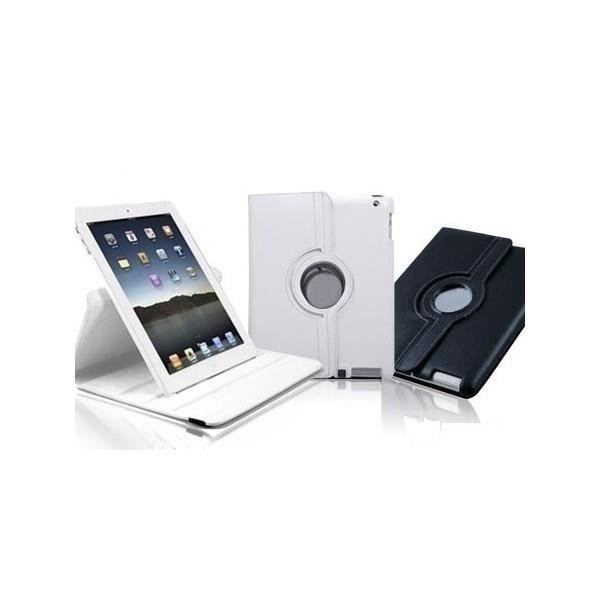 Housse rotative 360 pour ipad 2 et 3 blanc prix pas for Housse pour ipad 3