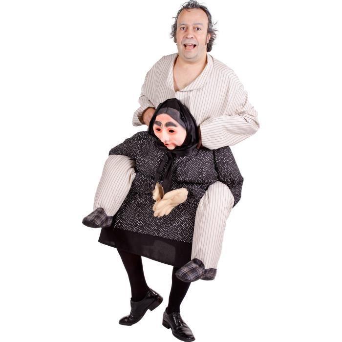 d guisement humoristique homme dos de grand m re achat vente d guisement panoplie. Black Bedroom Furniture Sets. Home Design Ideas
