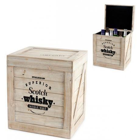 Caisse bouteilles scotch whisky en bois achat vente - Caisse en bois pour rangement ...