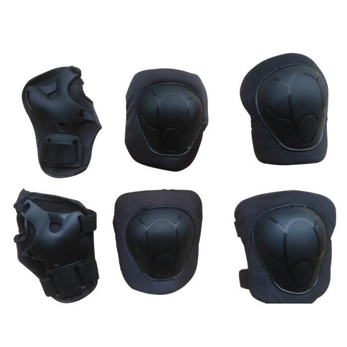 6pcs set protection b b genou coude poignet pour enfant. Black Bedroom Furniture Sets. Home Design Ideas