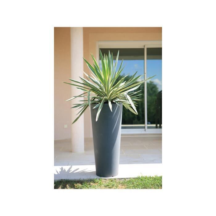 Bac orione rond effile hauteur 85cm achat vente for Jardiniere hauteur 1 metre