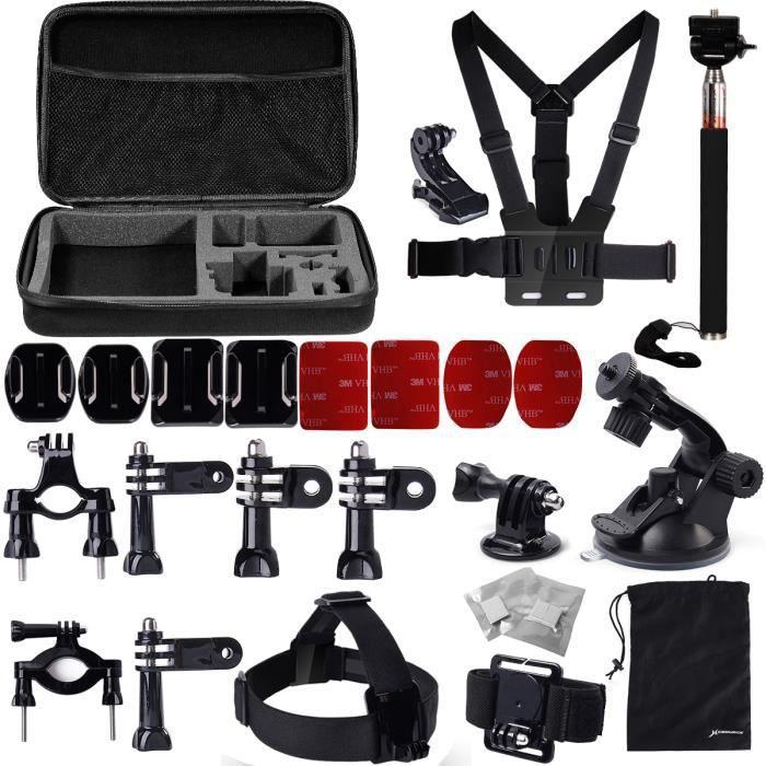ensemble d 39 accessoires support pour gopro hero 2 3 achat. Black Bedroom Furniture Sets. Home Design Ideas