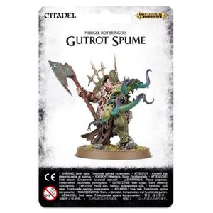 FIGURINE - PERSONNAGE Gutrot Spume 83-27 - Nurgle Rotbingers - Warhammer