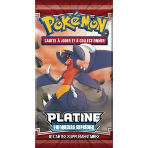 CARTE A COLLECTIONNER Booster Pokemon Platine - Vainqueurs Suprêmes