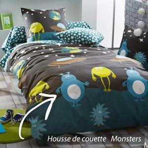 housse de couette 200x200 enfant achat vente housse de couette 200x200 en. Black Bedroom Furniture Sets. Home Design Ideas