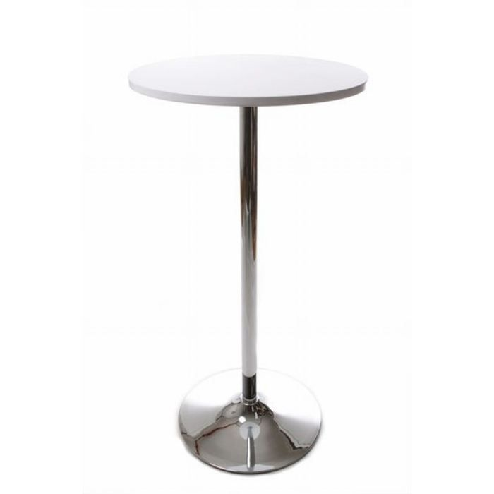 table bar ronde achat vente table bar ronde pas cher cdiscount. Black Bedroom Furniture Sets. Home Design Ideas
