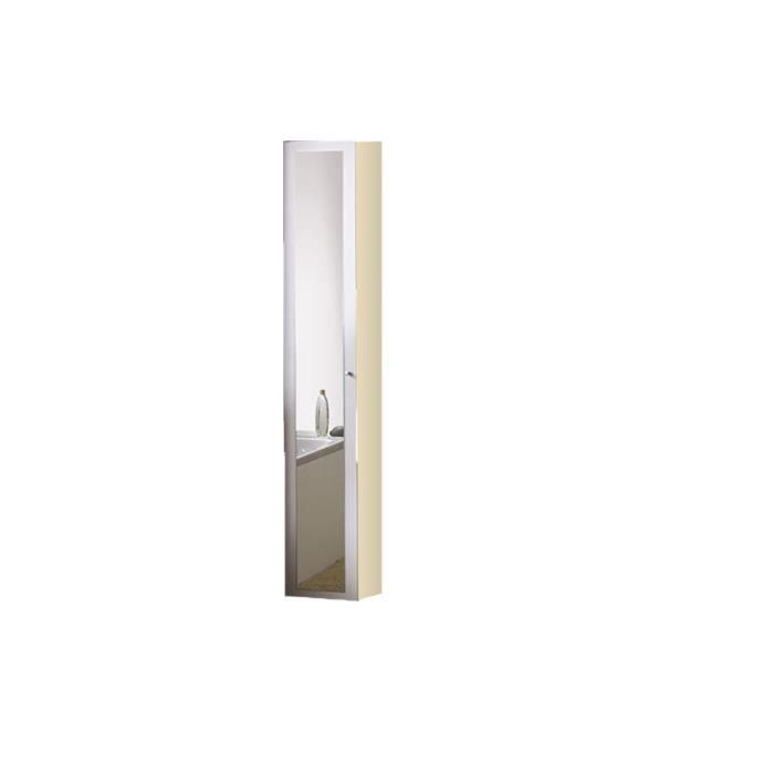 Colonne salle de bain 1 porte blanc 29 cm wade achat for Colonne de salle de bain 1 porte