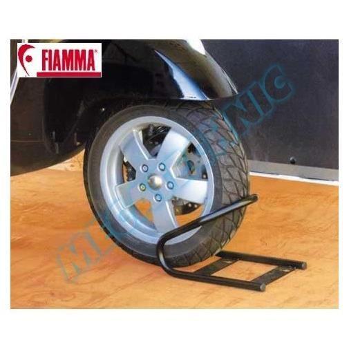 blocage roue avant moto wheel chock front lar achat vente antivol bloque roue blocage. Black Bedroom Furniture Sets. Home Design Ideas