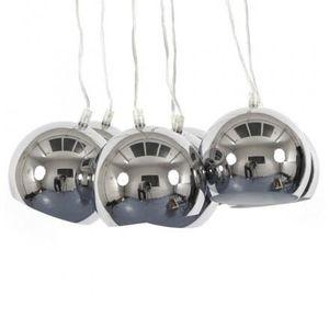 LUSTRE ET SUSPENSION Lampe à suspension design BARE en métal (chromé)