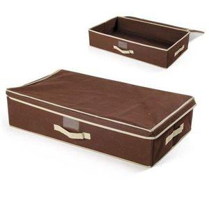 boite sous lit achat vente boite sous lit pas cher cdiscount. Black Bedroom Furniture Sets. Home Design Ideas