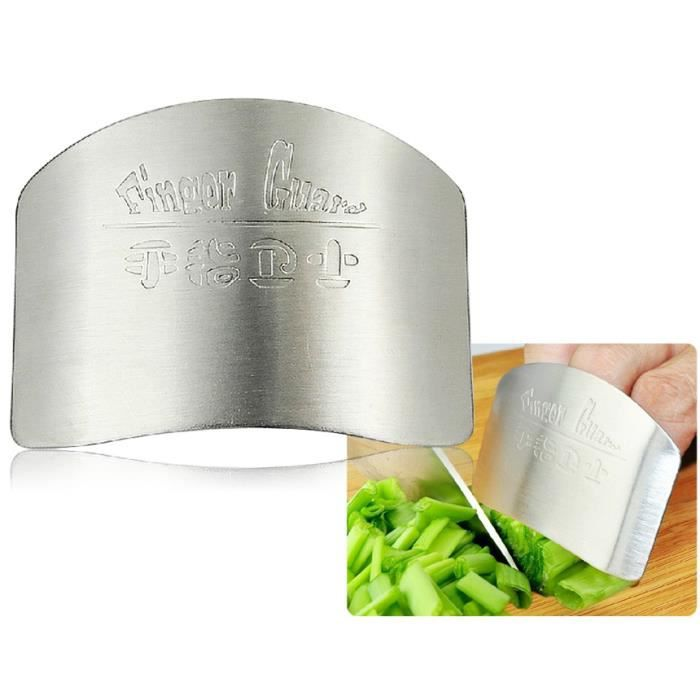 Acier inoxydable coupe couteau prot ge doigts achat for Protege couteau cuisine