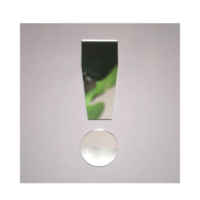 miroir point d exclamation design 13 cm de hau achat vente miroir acrylique verre cdiscount. Black Bedroom Furniture Sets. Home Design Ideas