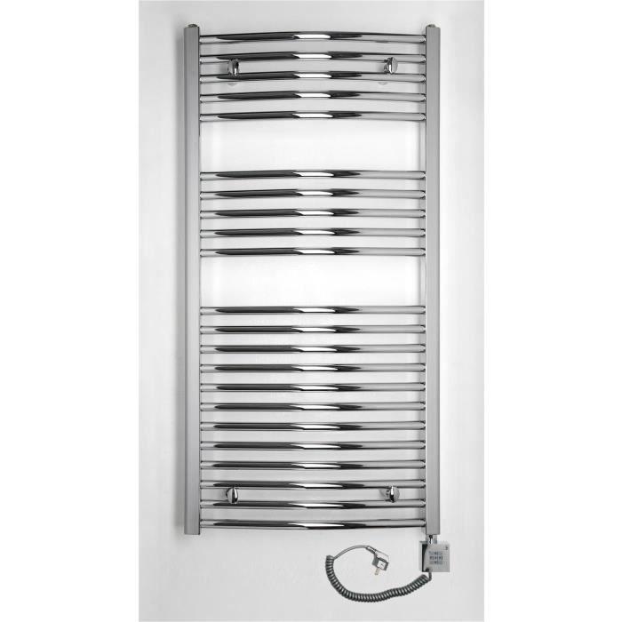 Chauffage lectrique droit pour salle de bain c achat for Radiateur electrique salle de bain