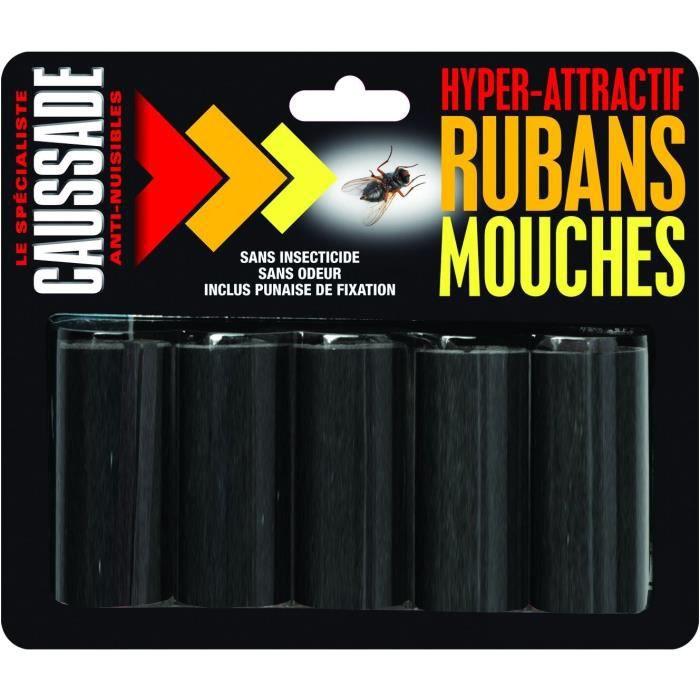 Ruban attrape mouche x5 caussade achat vente pi ge for Attrape mouches maison