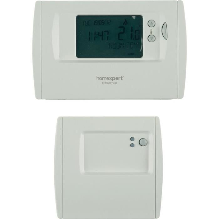 thermostat d 39 ambiance digital programmable hone achat. Black Bedroom Furniture Sets. Home Design Ideas