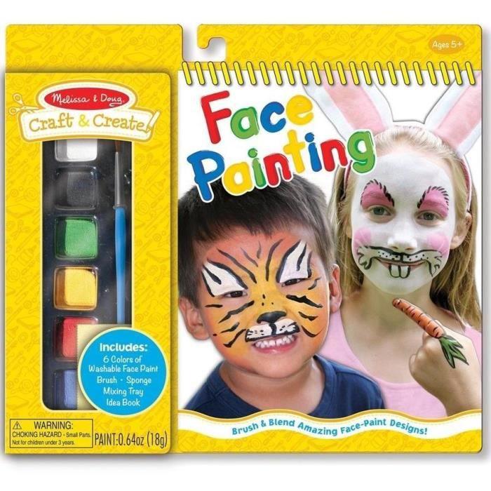 Maquillage enfants 6 peinture pour visage degui achat - Maquillage visage enfant ...
