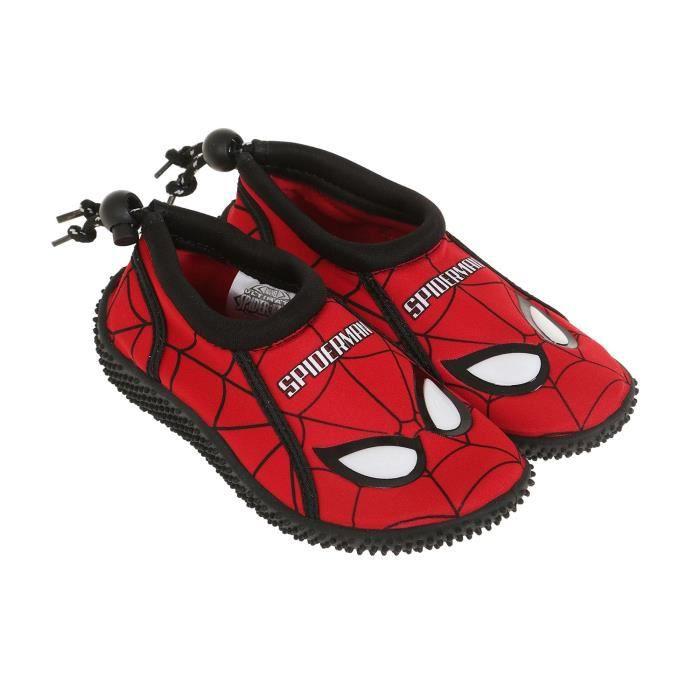 CHAUSSON - PANTOUFLE Spiderman   Chaussures en néoprène