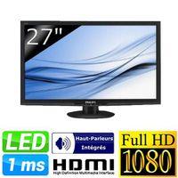 Ecran LCD 27 pouces PHILIPS 273E3LHSB NOIR 27\