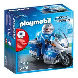 Moto playmobil achat vente jeux et jouets pas chers - Jeux de motos de police ...