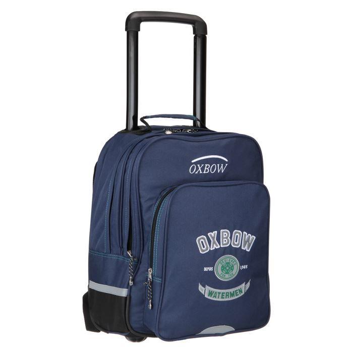 oxbow sac roulettes enfant bleu fonc achat vente sac dos oxbow sac roulettes enfant. Black Bedroom Furniture Sets. Home Design Ideas