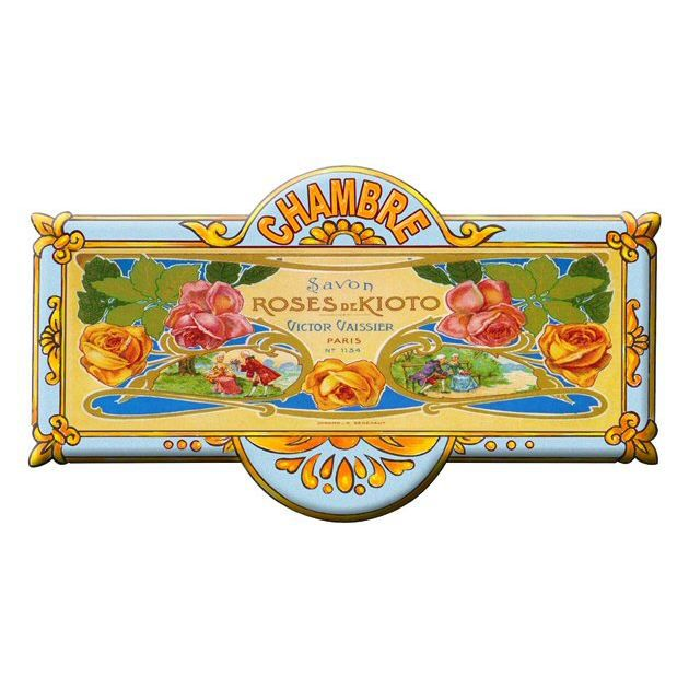 Plaque de porte chambre roses de kioto mp176 achat for Plaque de porte decorative