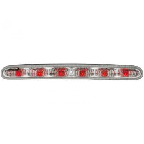 3eme feu stop 6 leds adaptable pour peugeot 206 chrome achat vente phares optiques 3eme. Black Bedroom Furniture Sets. Home Design Ideas