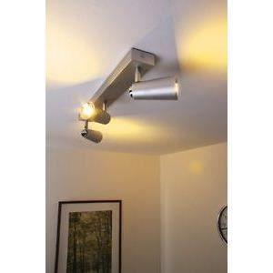 luminaire lustre lampe 3 spots sur rail philips pl achat vente luminaire lustre lampe 3 sp. Black Bedroom Furniture Sets. Home Design Ideas