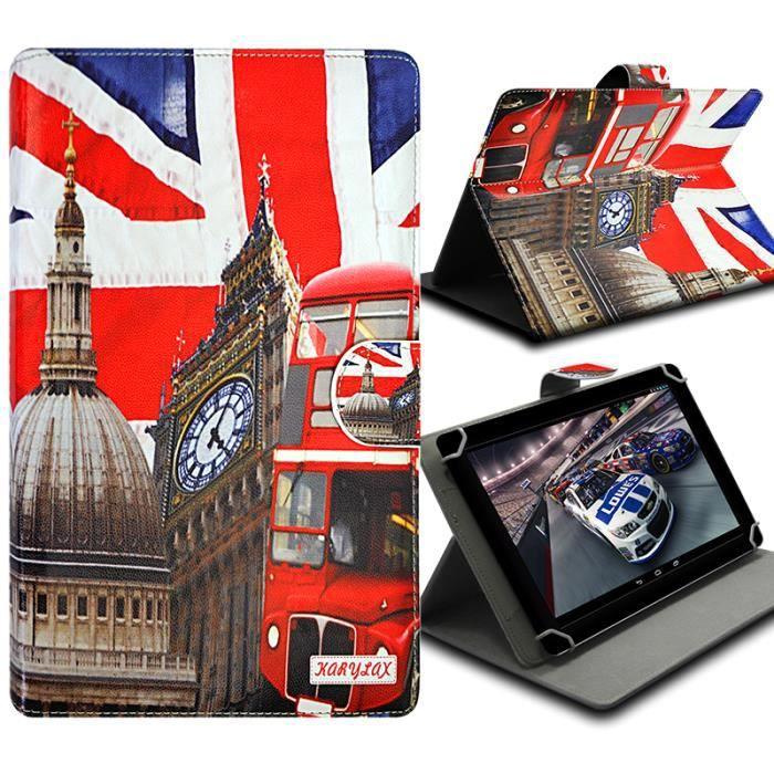 informatique accessoires tablettes tactiles etui folio pour tablette polaroid diamond  f kar