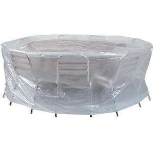 housse de protection table ronde achat vente housse de. Black Bedroom Furniture Sets. Home Design Ideas