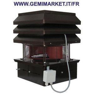 Aspirateur de fumee electrique pour cheminee