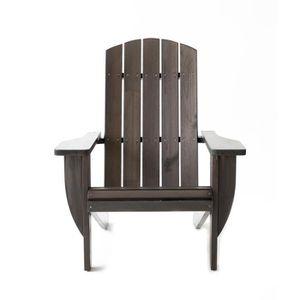 fauteuil adirondack achat vente fauteuil adirondack pas cher les soldes sur cdiscount. Black Bedroom Furniture Sets. Home Design Ideas