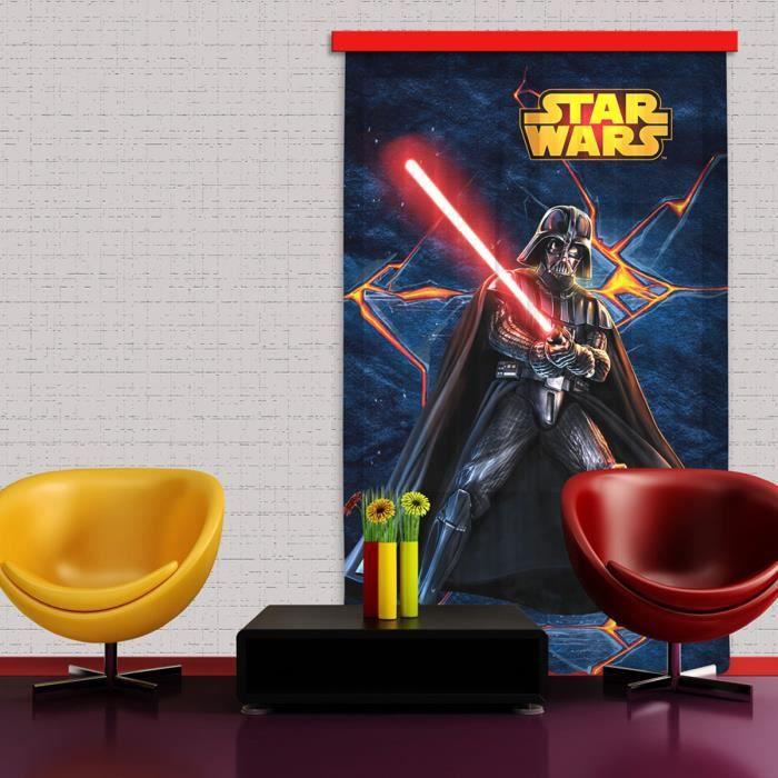 rideaux star wars dark vador achat vente rideau cdiscount. Black Bedroom Furniture Sets. Home Design Ideas