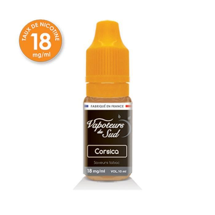 E Liquide Corsica 10 Ml Nicotine 18 Mg Achat Vente
