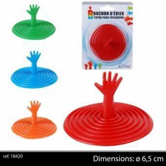 Bouchon d 39 vier fantaisie design main 6 5 cm achat - Bouchon d evier ...