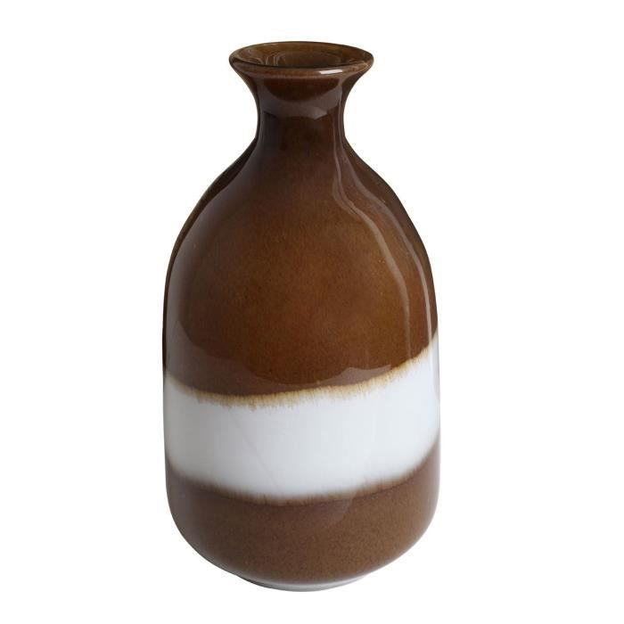 Vase en verre two tone pour salon d coration salle for Decoration vase en verre