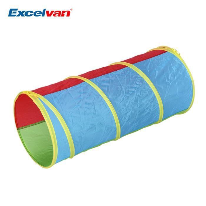 excelvan tente de jeu enfant avec tunnel portable et pliable int 233 rieur ext 233 rieur installation et