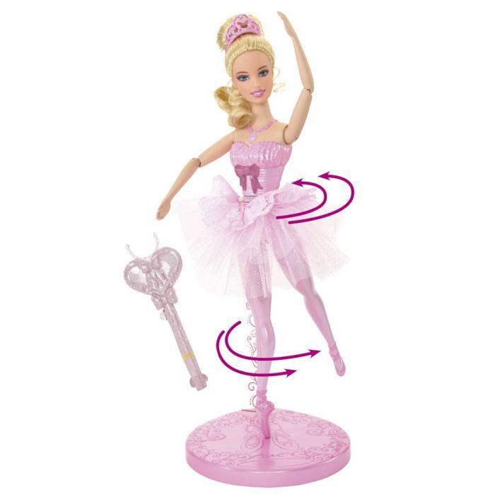 Barbie danseuse toile achat vente poup e cdiscount - Barbi danseuse etoile ...