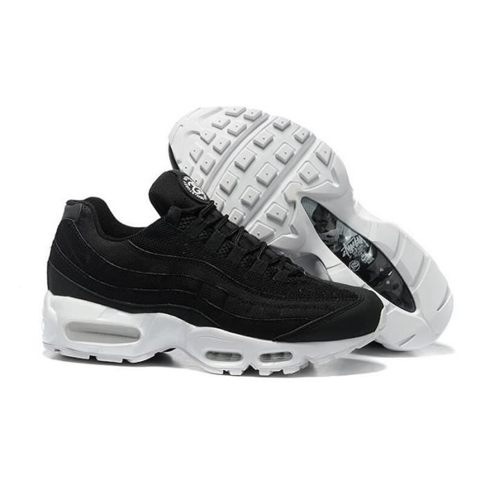 affordable price huge selection of best choice air max 95 homme,Nike Air Max 95 Homme All Blanche Textile Chaussures