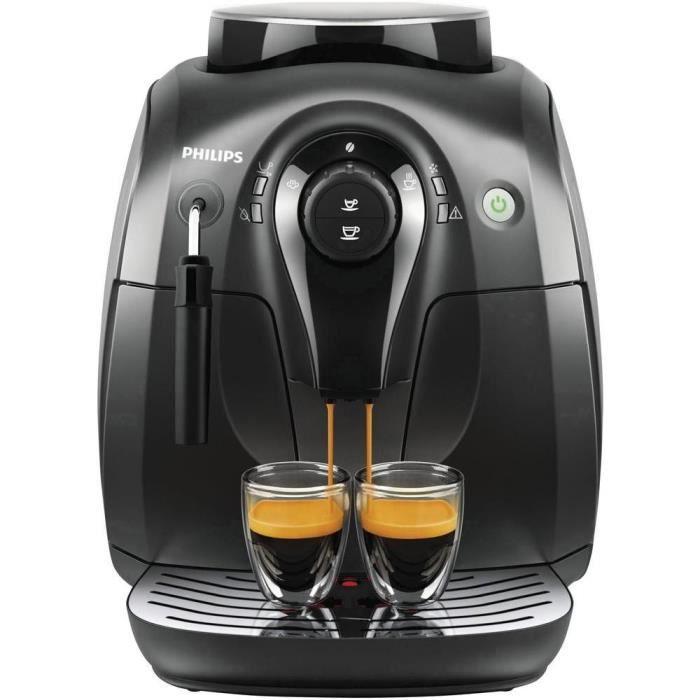 Philips cafeti re automatique hd8651 01 achat vente machine caf les - Cafetiere delonghi cafe en grains ...