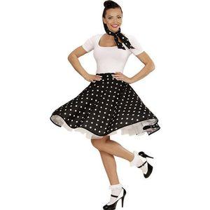 accessoire dguisement jupe et foulard noirs a pois annes 50 femme 785 - Modele De Cuisine A Vendre Annee 50